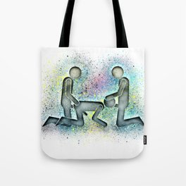 Cum In Either End Tote Bag