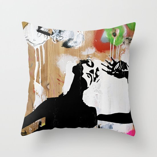 Hot NEW Decay Throw Pillow