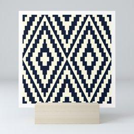 CLASSIC MOSAIC DIAMOND PATTERN  Mini Art Print