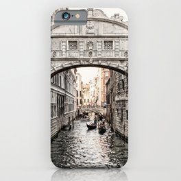 Bridge of Sighs, Venice, Italy (Lighter Version) iPhone Case