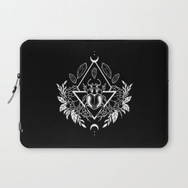 Scarab Queen // B&W 02 Laptop Sleeve