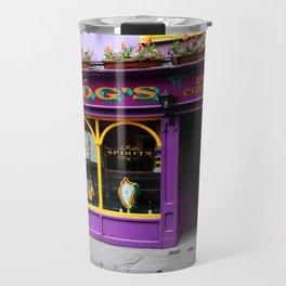 Colorful Irish Pub Travel Mug
