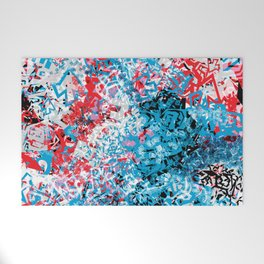 Demonic Toy Poodle Abstract Welcome Mat