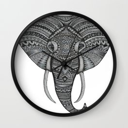 Love for the Elephants Wall Clock