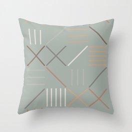 Geometric Shapes 08 Throw Pillow
