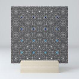 Mesh pattern Mini Art Print