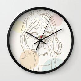 I love photography Wall Clock