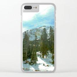 Colorado Mountain Clear iPhone Case