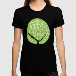 Tree of life - pea green T-shirt