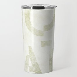 Moscato Wine Typography Travel Mug
