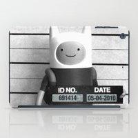 finn iPad Cases featuring Finn Lineup by Christophe Chiozzi