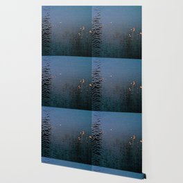 Sticky Leaves Wallpaper