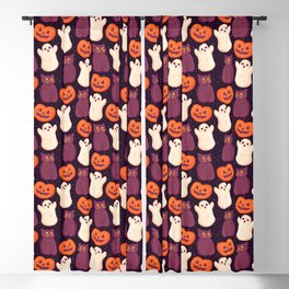 Halloween Marshmallows Blackout Curtain