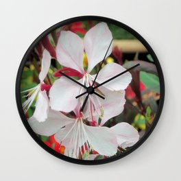 Delicate Pink Wall Clock