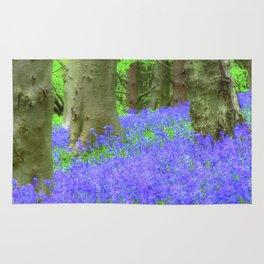 Bluebell Woods, The Wenallt #2 Rug