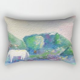 Singing Horse From Raise Every Voice and Sing Rectangular Pillow