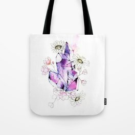 Crystal flowers Tote Bag