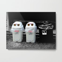 Take us to your leader! Metal Print