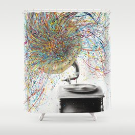 Sight of Sound Shower Curtain