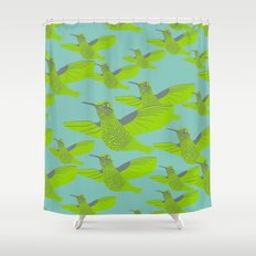 We Fly Shower Curtain