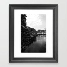 Charles River Framed Art Print