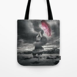Storm Clouds Gather Tote Bag