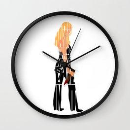 Buffy the Vampire Slayer Wall Clock