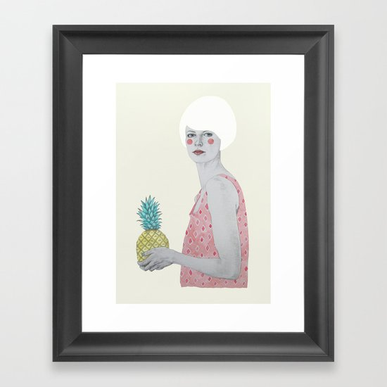 Ana Framed Art Print