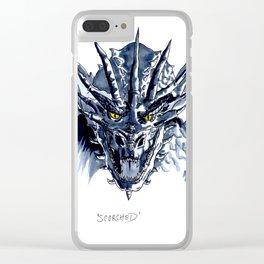 Scorched Clear iPhone Case