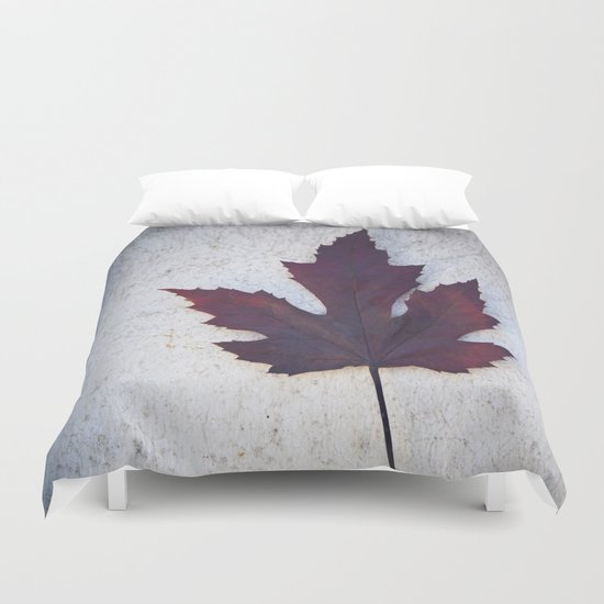 Maple Leaf II Duvet Cover