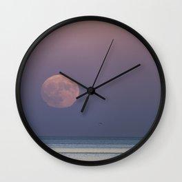 Sunset Moonrise Wall Clock