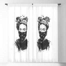 Rebel girl Blackout Curtain