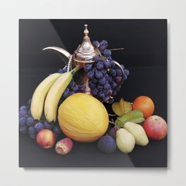 FORBIDDEN FRUITS - Oriental Still Life Metal Print