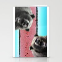 bears Stationery Cards featuring Bears by Mary Lo