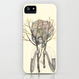 TREES NEVER LIED 05 iPhone Case