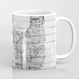 Shantytown Walls Coffee Mug
