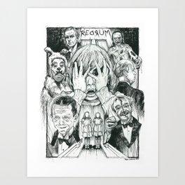 The Overlook Residents Art Print