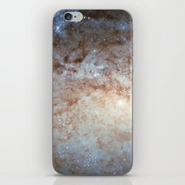 Spiral Galaxy NGC 3621 iPhone Skin