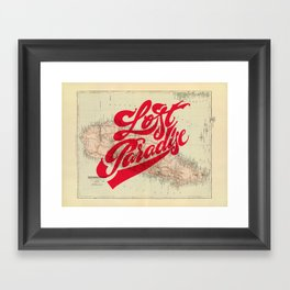 Lost Paradise Framed Art Print