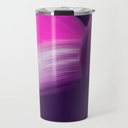 Pink and Purple Abstract Travel Mug