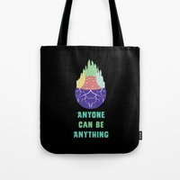 Zootopia - Anyone Can Be Anything [BLACK] Tote Bag