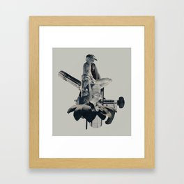 terminal Framed Art Print
