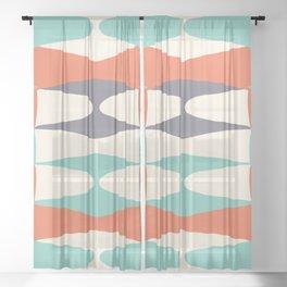 Zaha Retro Juice Sheer Curtain