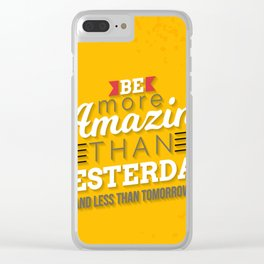 Poster Clear iPhone Case