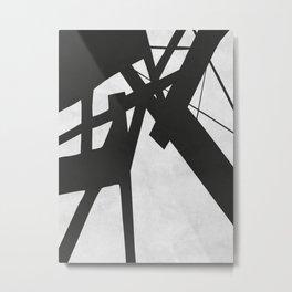 Black Expressionism XVIII Metal Print