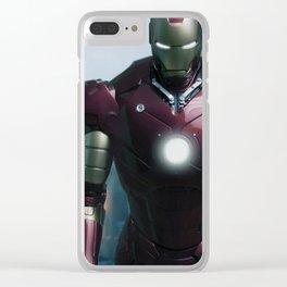 Iron Man: Gulmira II Clear iPhone Case