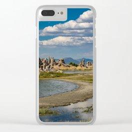 Mono Lake, California - III Clear iPhone Case