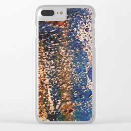 tattered Clear iPhone Case