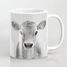 Calf - Black & White Coffee Mug