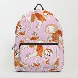 Akita Inu (Pattern) Backpack